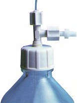 HPLC solvent bottle resevoir cap
